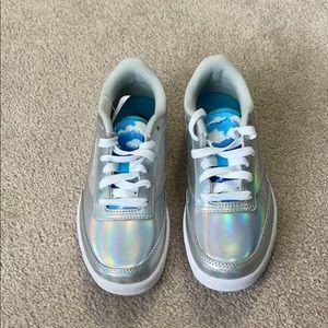 Brand New Rare Reebok Wonder Woman Shoes Kids 3.5